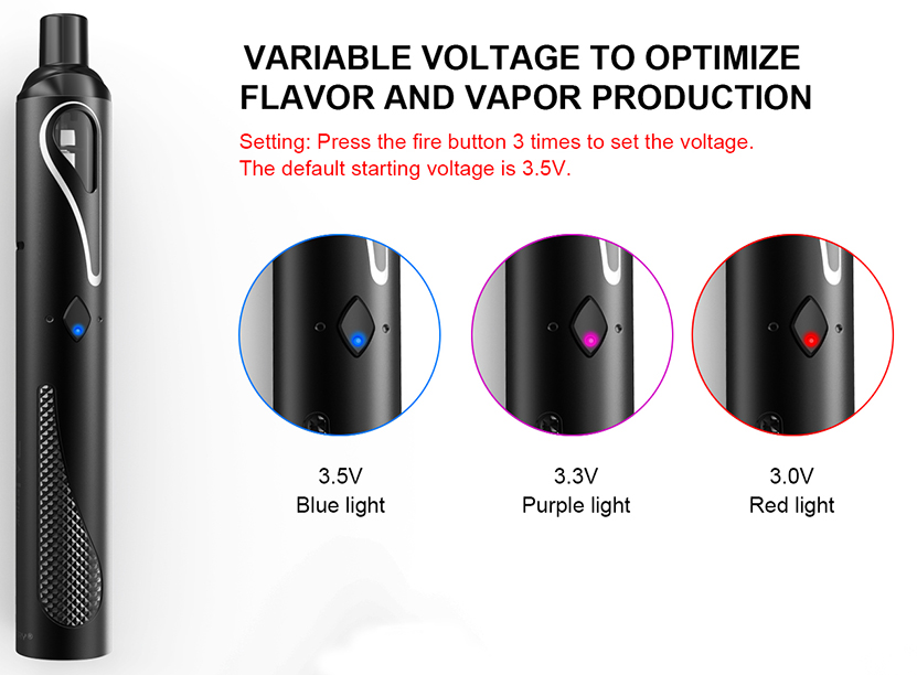 PAL Stick Vape Kit Features 06