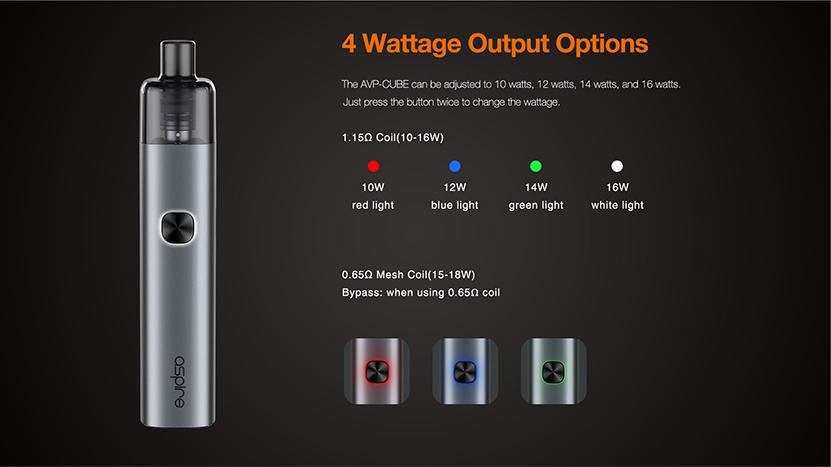 Aspire AVP Cube Kit Feature 8