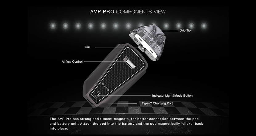 Aspire AVP Pro Kit Features 4
