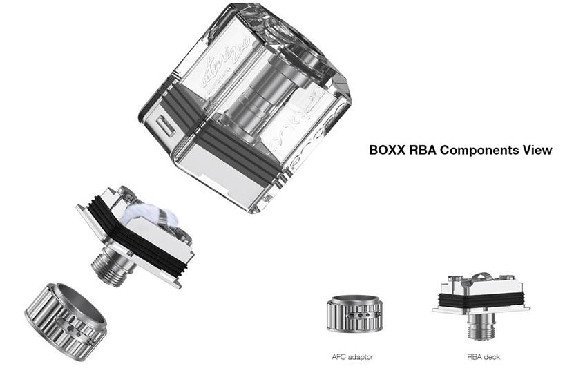 Aspire BOXX Kit Feature 3