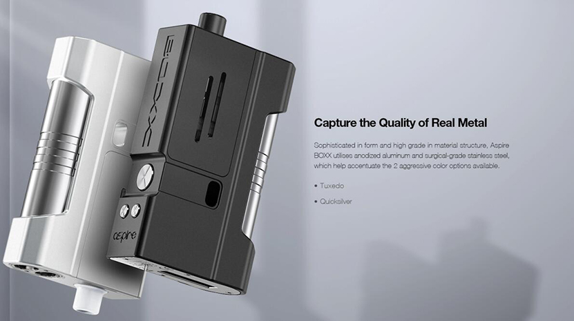 Aspire BOXX Kit Feature 4