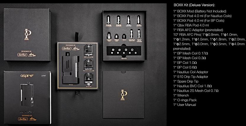 Aspire BOXX Kit Feature 15