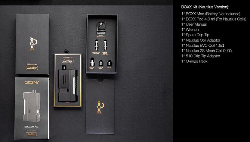 Aspire BOXX Kit Feature 16