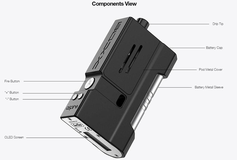 Aspire BOXX Kit Feature 11