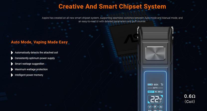 Aspire BP80 Kit Feature 12