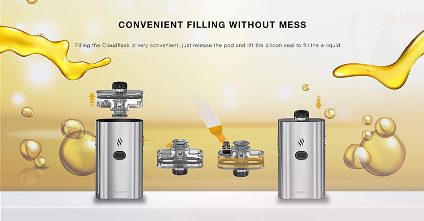 Cloudflask Pod Cartridge Feature 2