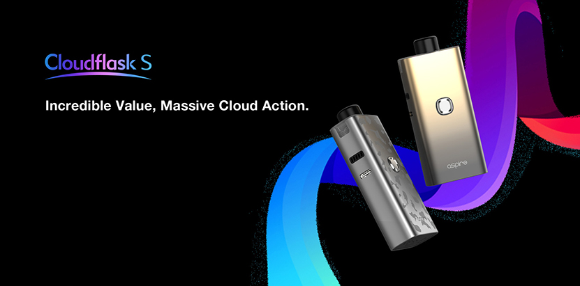 Aspire Cloudflask S Kit Feature 7