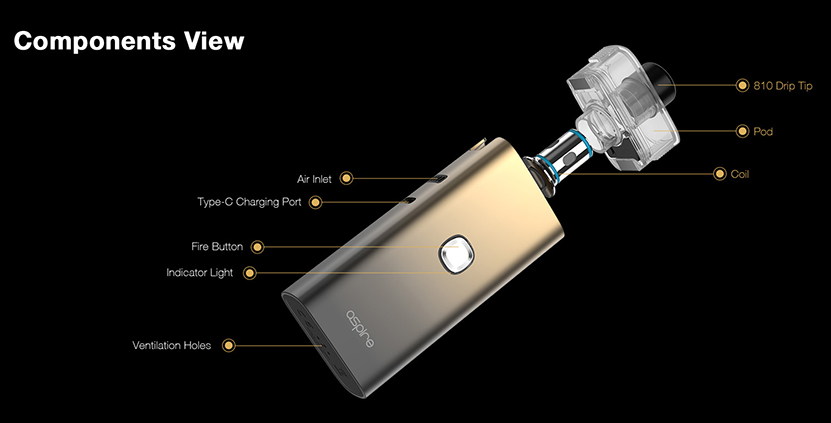 Aspire Cloudflask S Kit Feature 9