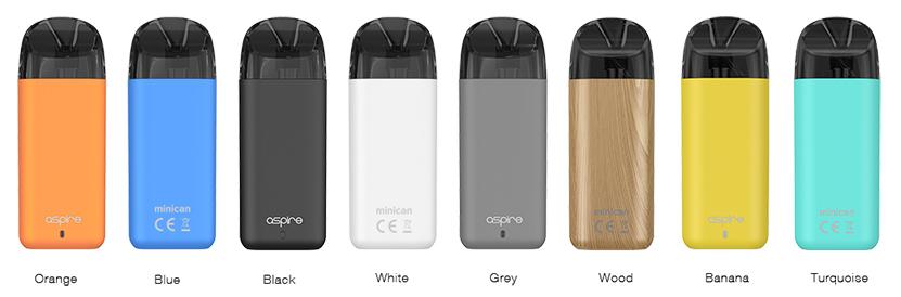 Aspire Minican Kit Colors