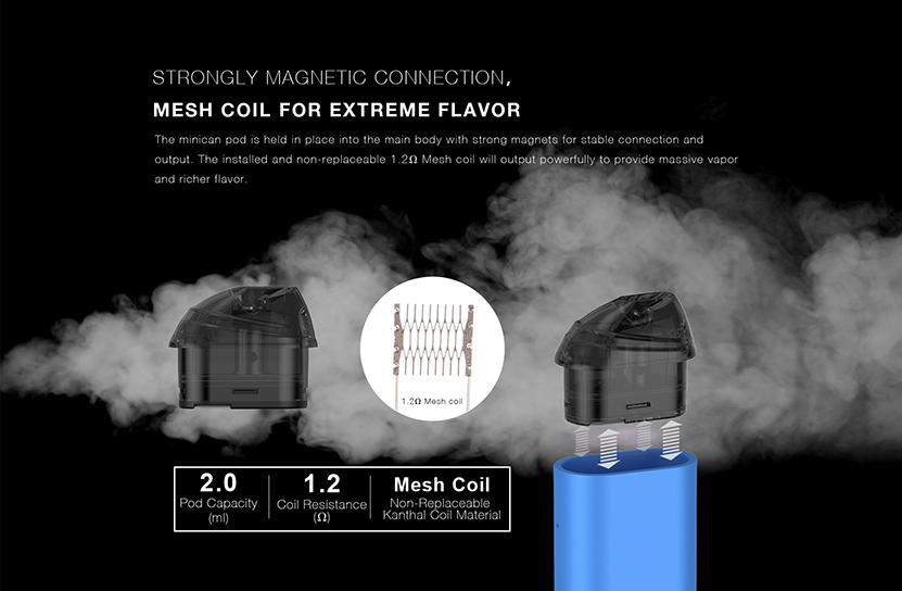 Aspire Minican Kit Feature 5