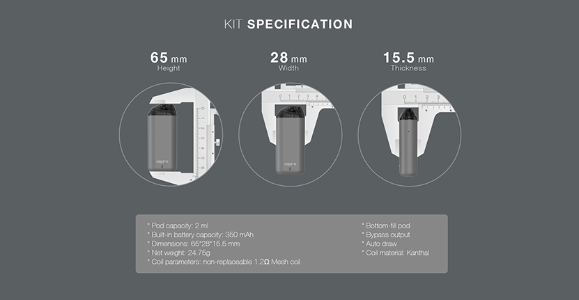 Aspire Minican Kit Feature 10