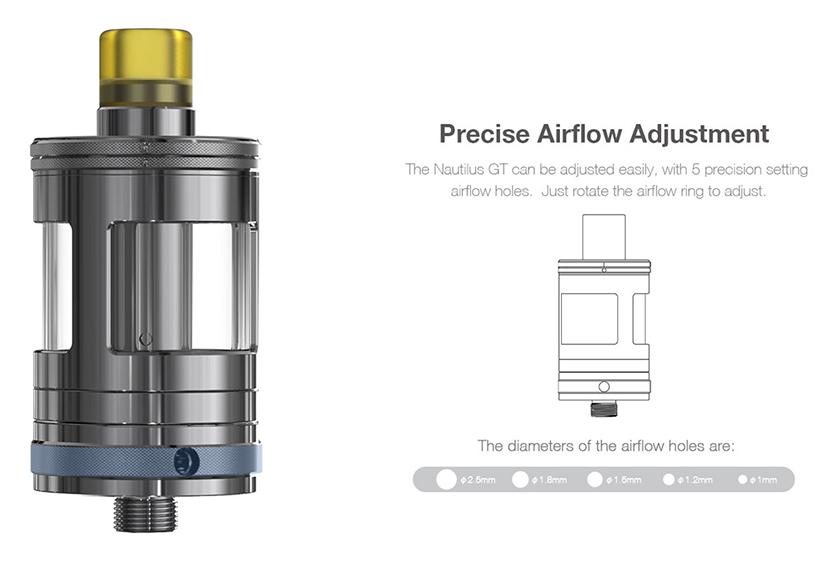 Aspire Nautilus GT Kit Feature 7