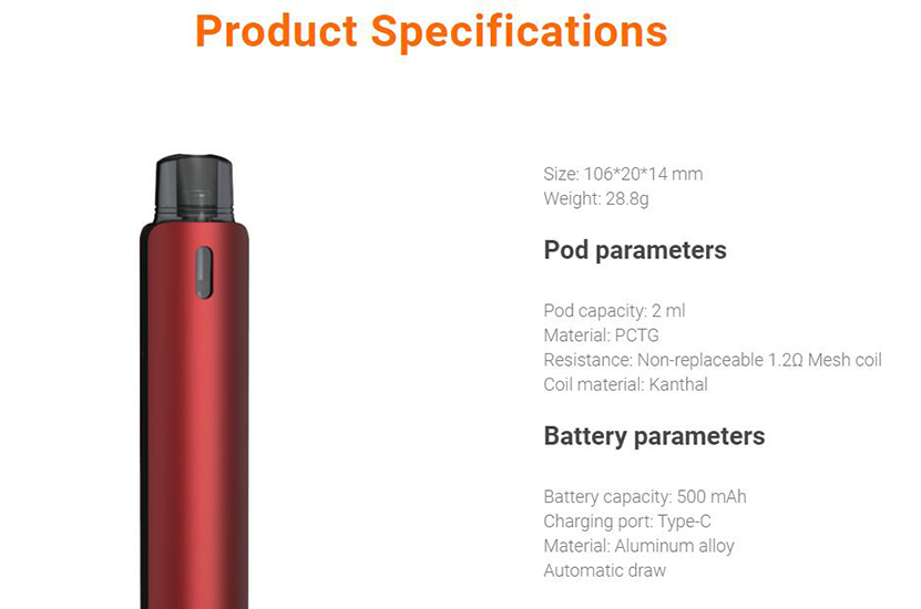 Aspire OBY Kit Feature 7
