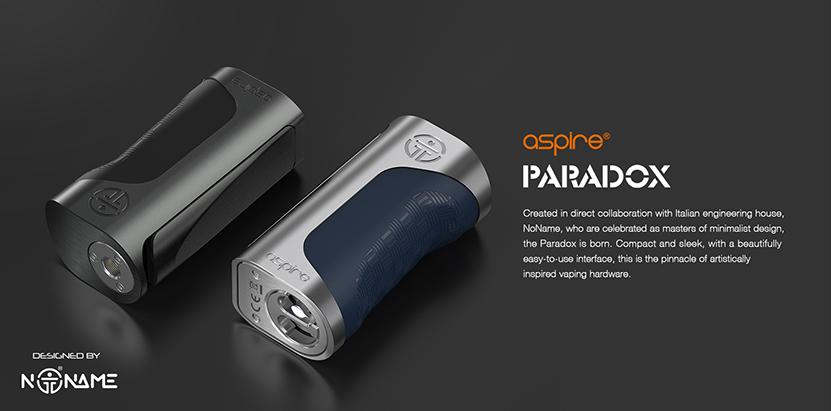 Aspire Paradox Box Mod Coming