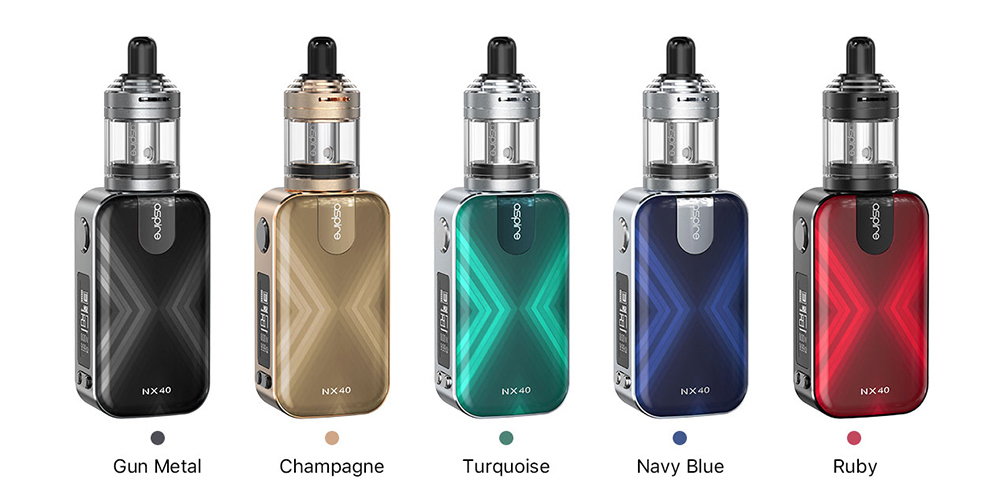 Aspire Rover 2 Kit Colors