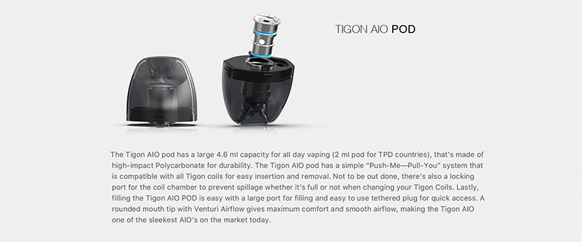 Aspire Tigon AIO Kit Feature 7