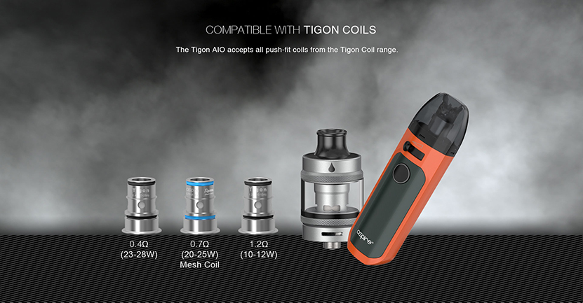 Aspire Tigon AIO Kit Feature 11