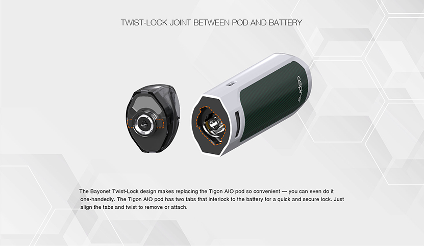Aspire Tigon AIO Kit Feature 12