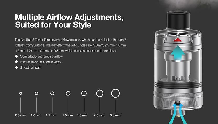 Aspire Zelos 3 Kit feature6