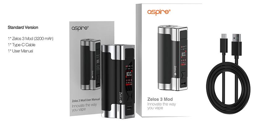 Aspire Zelos 3 Mod package