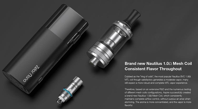 Aspire Zelos Nano Kit Feature 8
