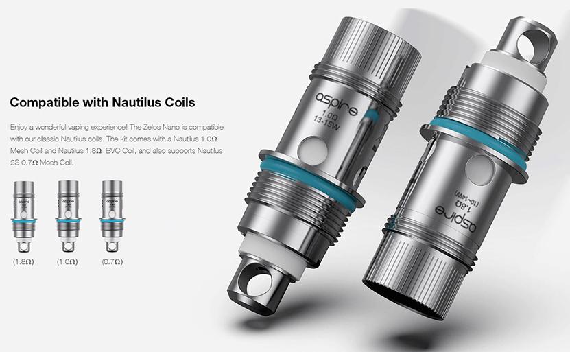 Aspire Zelos Nano Kit Feature 10