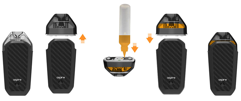 Aspire AVP AIO kit Feature 3