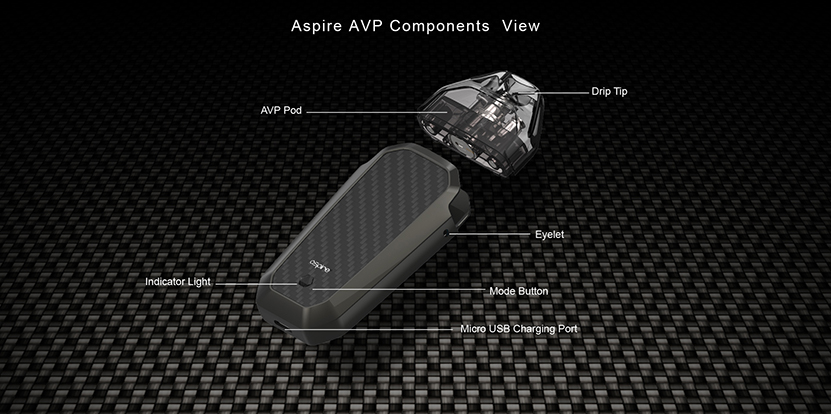 Aspire AVP AIO kit Feature 6