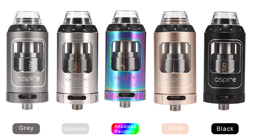Aspire Athos Tank Colors