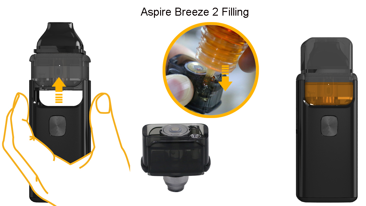 Aspire Breeze 2 AIO Pod Starter Kit TPD Features 6
