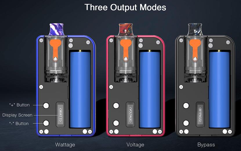 Mulus Pod Starter Kit Three Output Modes