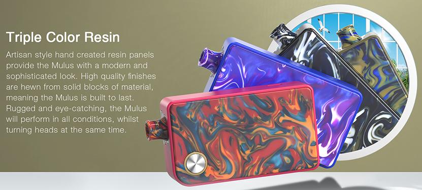 Aspire Mulus Pod Starter Kit Triple Color Resin