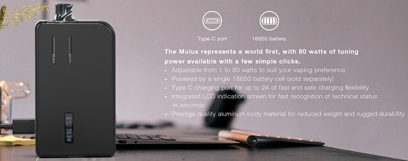 Mulus Pod System Type C Port