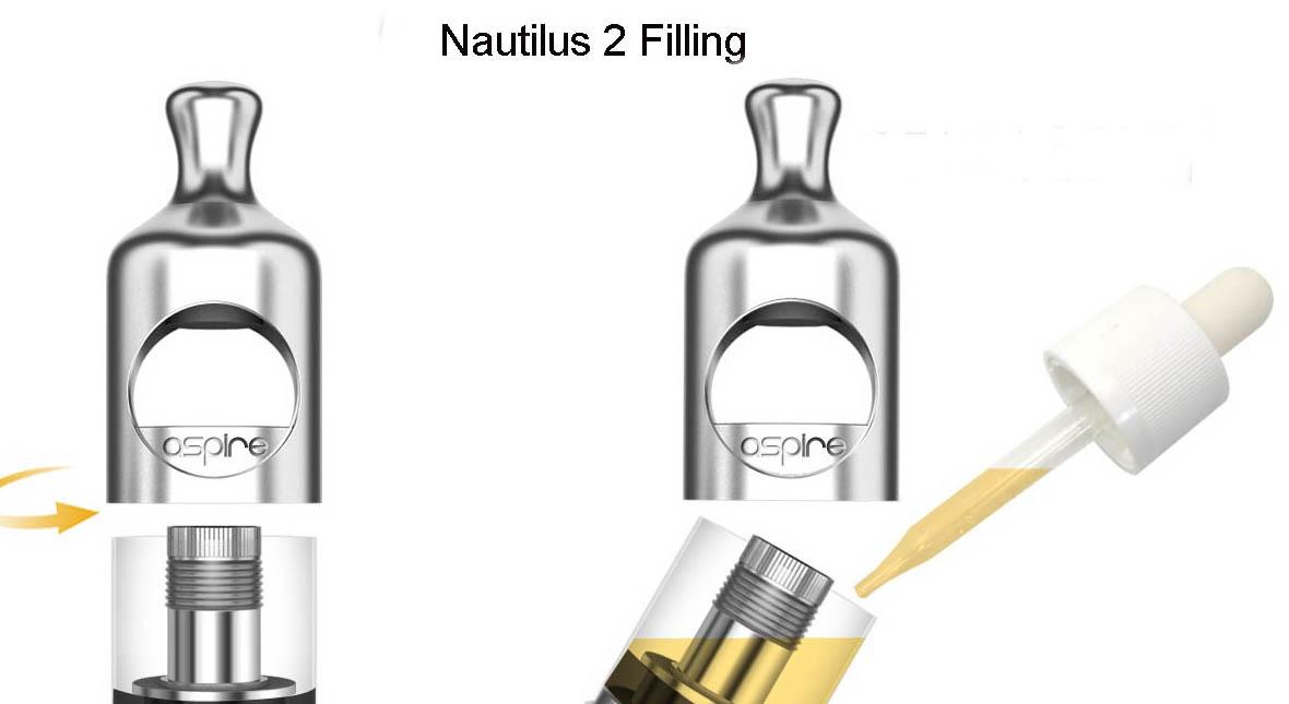 Nautilus 2 Vape Tank TPD Features 3