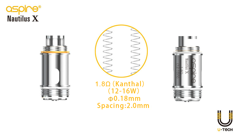 Aspire Nautilus X Replacement Coil Features 1
