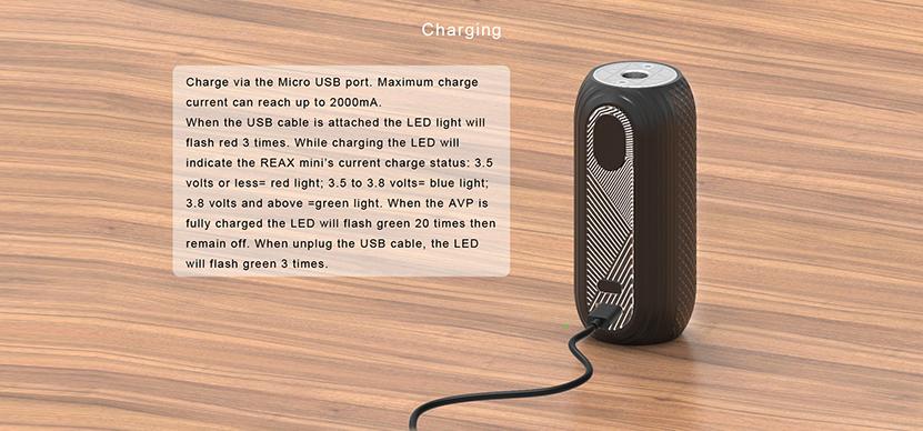 Aspire Reax Mini Battery Feature 1