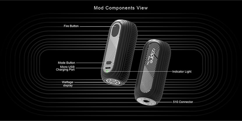 Aspire Reax Mini Battery Feature 2