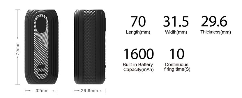 Aspire Reax Mini Battery Feature 4
