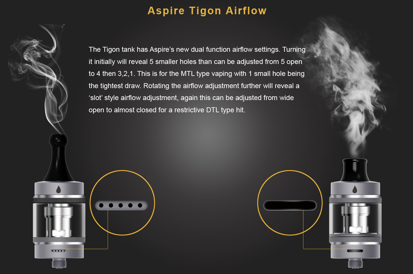 Aspire Tigon Kit Features 8