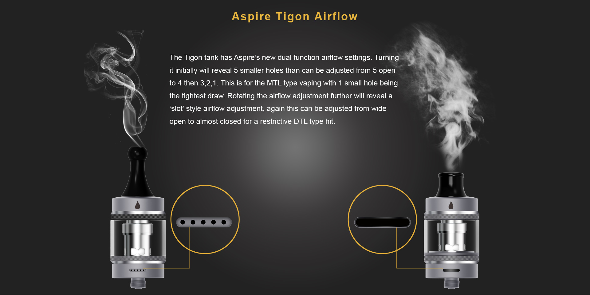 Aspire Tigon Tank Features 8