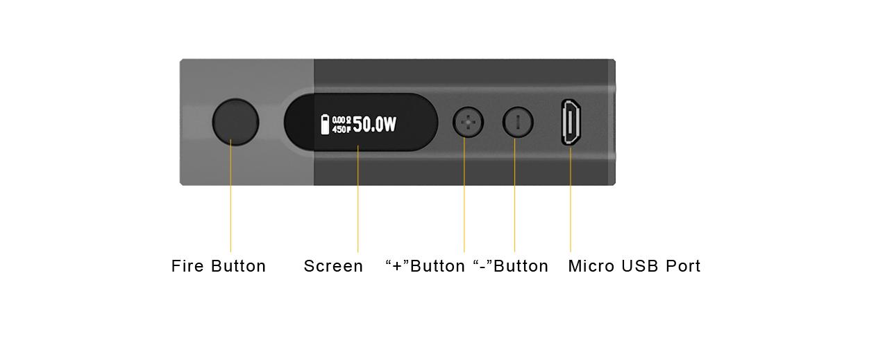 Aspire Zelos 50W 2.0 Kit Feature 9