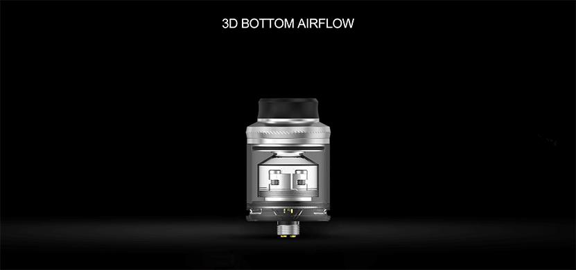 Augvape Druga RTA Tank Atomizer 3D Bottom Airflow