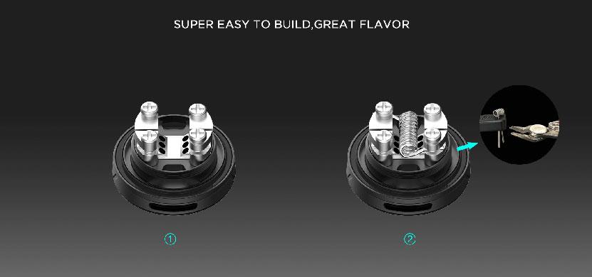 Augvape Druga Tank Atomizer Coil Replacement