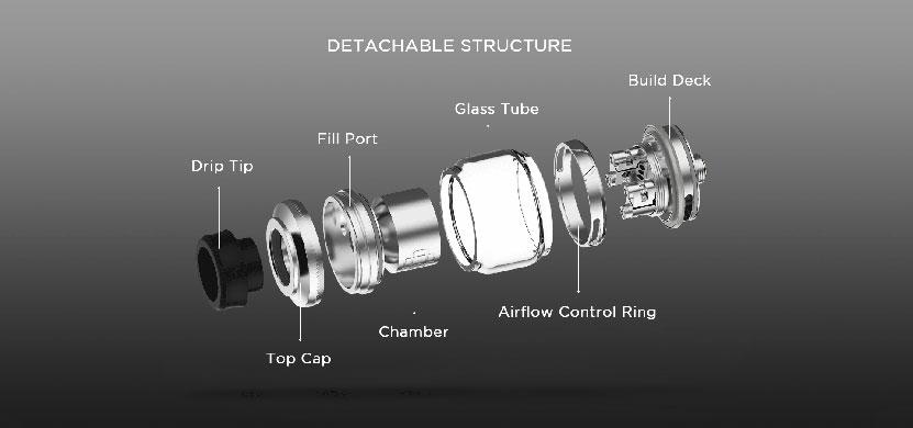 Augvape Druga RTA Structure