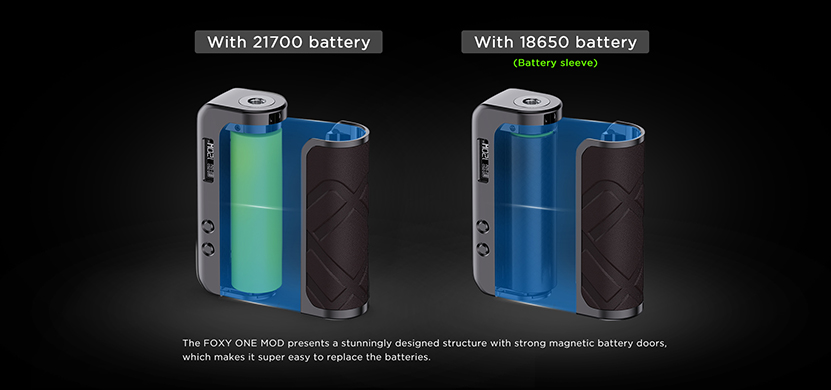 Augvape Foxy One Mod Feature 1