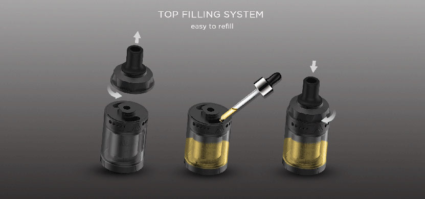 Augvape Intake MTL RTA Atomizer Top Filling