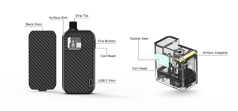 Augvape Narada Pod Kit Feature 7