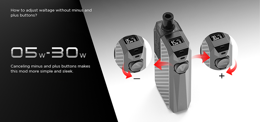Augvape Narada Pro Starter Kit Adjustable Wattage