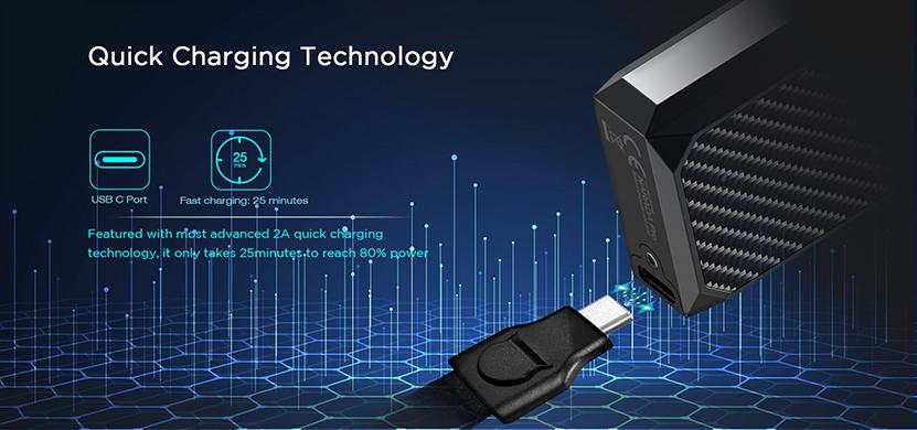 Augvape Narada Pro Pod System Kit Charging