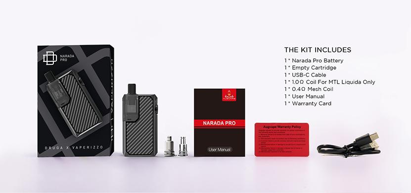 Augvape Narada Pro Kit Package